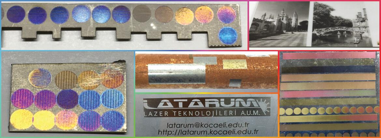 Lazerle Markalama / Yüzey İşleme / Temizleme