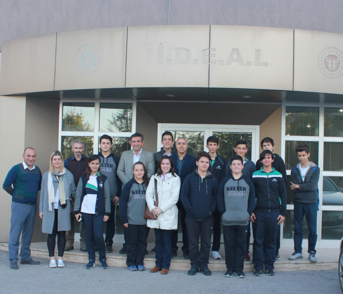 Kültür Okullarından Merkezimize Teknik Ziyaret